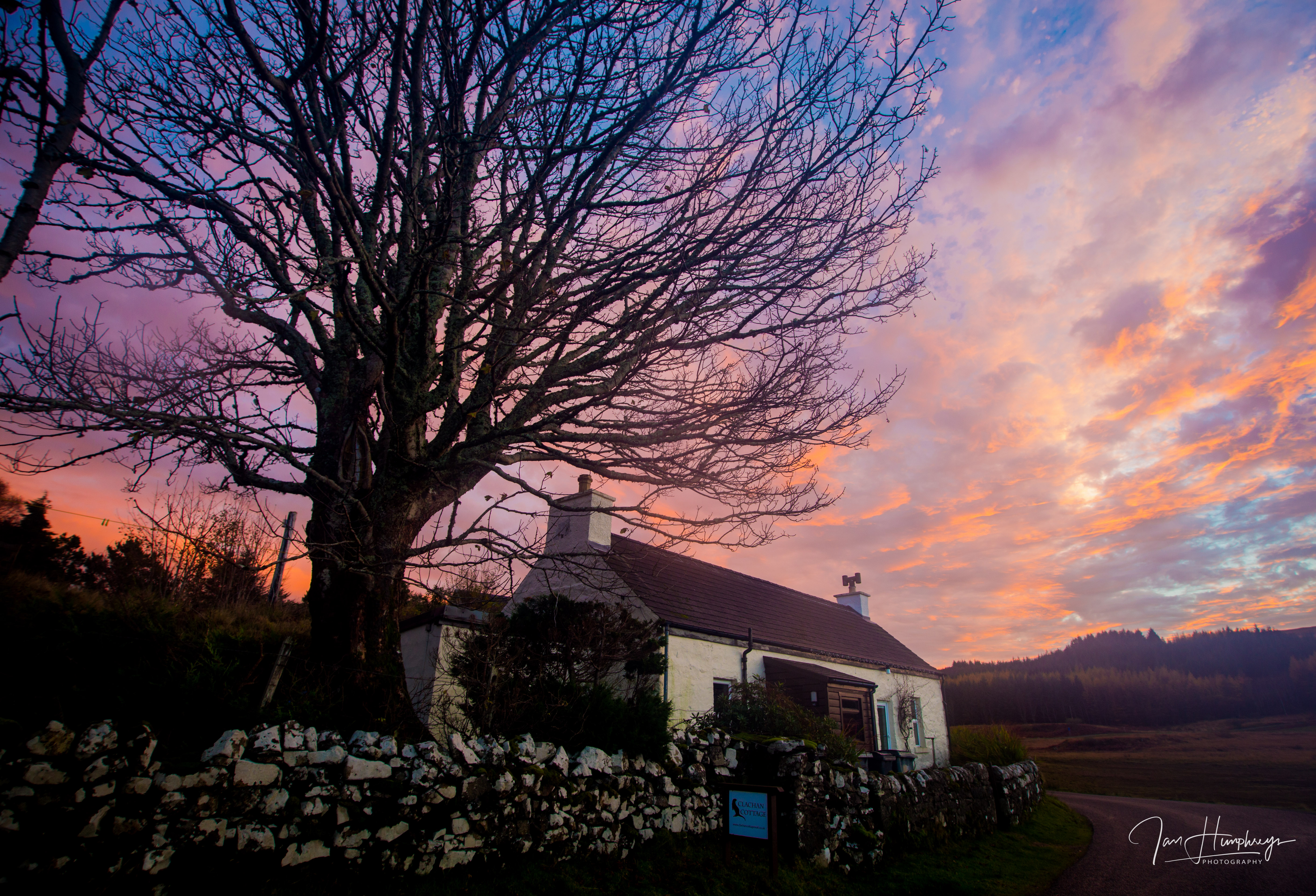 Clachan Cottage accommodation on Mull